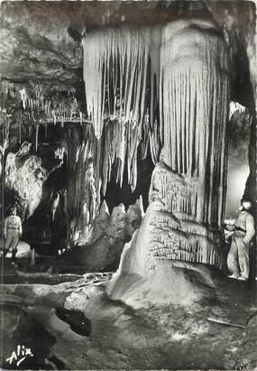 """CPSM FRANCE 65 """"Bagnères de Bigorre, Grottes de Medous' / GROTTES"""
