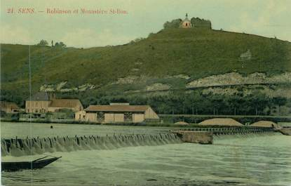 """CPA FRANCE 89 """" Sens, Robinson et le Monastère de St Bon"""""""