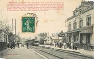 "89 Yonne CPA FRANCE 89 "" Brienon, La gare"" / TRAIN"