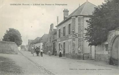 """CPA FRANCE 89 """" Courlon, L'Hôtel des Postes et Télégraphes"""""""