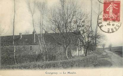 "CPA FRANCE 89 "" Courgenay, Le Moulin"""