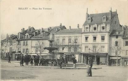 """/ CPA FRANCE 01 """"Belley, place des terreaux"""""""