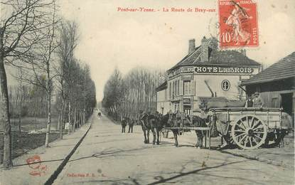 "CPA FRANCE 89 "" Pont sur Yonne"""