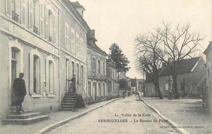 """CPA FRANCE 89 """" Sermizelles, Le Bureau de Poste"""""""