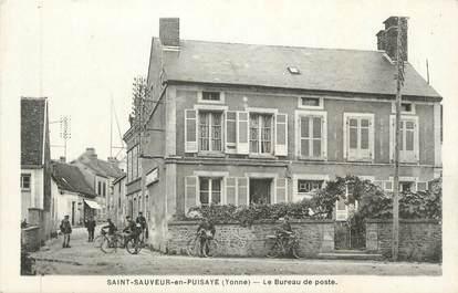 """CPA FRANCE 89 """" St Sauveur en Puisaye, Le Bureau de Poste"""""""
