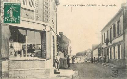 "CPA FRANCE 89 "" St Martin sur Oreuse, Rue principale"""