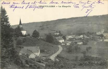 "CPA FRANCE 25 ""Indevillers, la chapelle"""