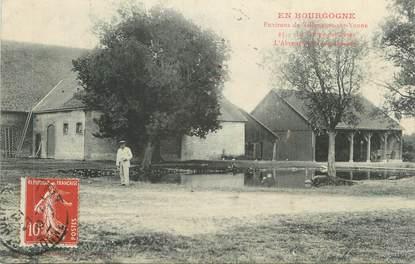 """CPA FRANCE 89 """" Environs de Villeneuve sur Yonne, La Ferme des Sèves"""""""