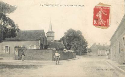"""CPA FRANCE 89 """" Trevilly"""""""