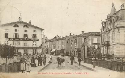 """CPA FRANCE 88 """" Charmes sur Moselle, Le pont"""""""