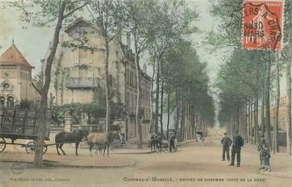 """CPA FRANCE 88 """" Charmes sur Moselle, L'entrée du côté de la gare"""""""