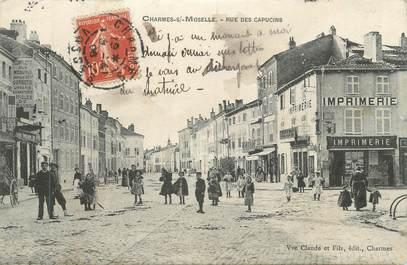 "CPA FRANCE 88 "" Charmes, Rue des Capucins"""