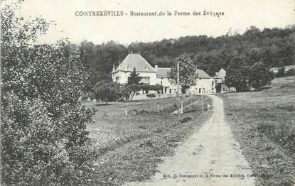 """CPA FRANCE 88 """" Contrexéville, Restaurant de la Ferme des Evêques"""""""