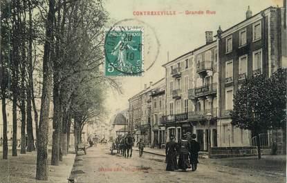 """CPA FRANCE 88 """" Contrexéville,La grande rue"""""""