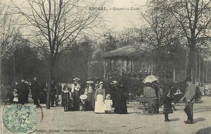 """CPA FRANCE 88 """" Epinal, Concert au Cours"""""""