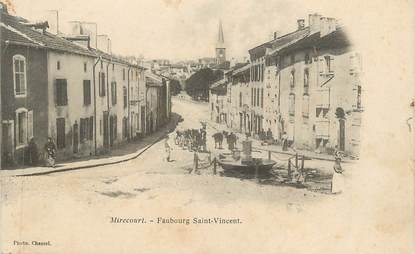 "CPA FRANCE 88 "" Mirecourt, Faubourg St Vincent"""