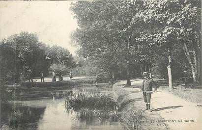 "CPA FRANCE 88 "" Martigny les Bains, Le lac"""