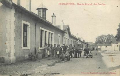 "CPA FRANCE 88 "" Neufchateau, Quartier Rebeval, les cantines"""