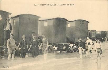 "CPA FRANCE 59 ""Malo les Bains, L'Heure du Bain"""