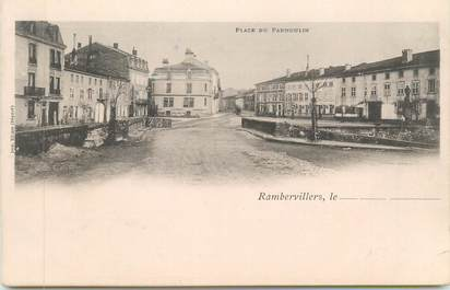 "CPA FRANCE 88 "" Rambervillers, Place du Parmoulin"""