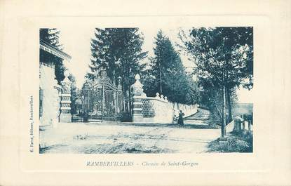 "CPA FRANCE 88 "" Rambervillers, Chemin de St Georges"""