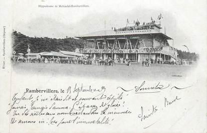 """CPA FRANCE 88 """" Rambervillers - Métendal, Hippodrome"""""""