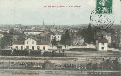 "CPA FRANCE 88 "" Rambervillers, Vue générale"""