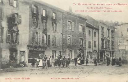 """CPA FRANCE 88 """" Raon l 'Etape, Place du Marché aux Vins"""""""