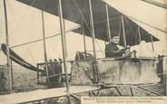 """88 Vosge CPA FRANCE 88 """" Remiremont, Biplan de M. Farman piloté par l'Aviateur Quennehen"""""""