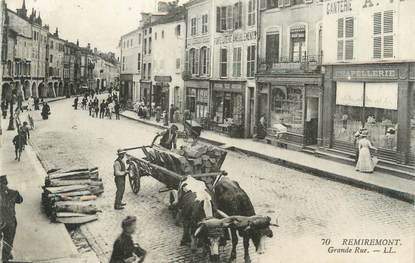 """CPA FRANCE 88 """" Remiremont, Grande Rue"""""""
