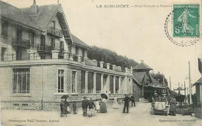 """CPA FRANCE 88 """" La Schlucht, Hôtel Français"""""""