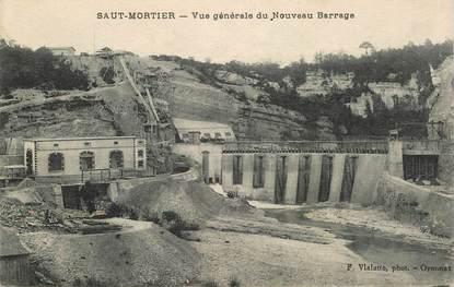 """CPA FRANCE 39 """" Saut Mortier, vue générale du nouveau Barrage"""""""