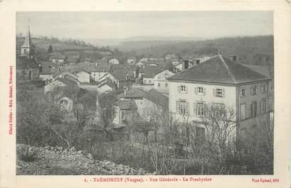 """CPA FRANCE 88 """" Trémonzey, Vue générale, Le Presbytère"""""""