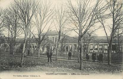 """CPA FRANCE 88 """" Thaon les Vosges, Ecole de garçons"""""""