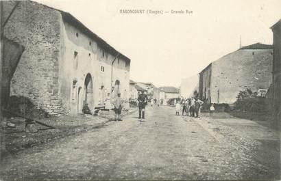 "CPA FRANCE 88 "" Vaxoncourt, Grande rue"""