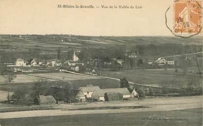 """CPA FRANCE 41 """"Saint Hilaire la Gravelle, vue de la Vallée du Loir"""""""