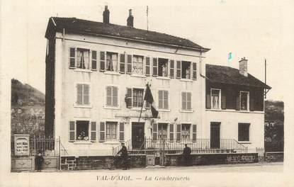 """CPA FRANCE 88 """"Le Val d'Ajol, La Gendarmerie"""""""