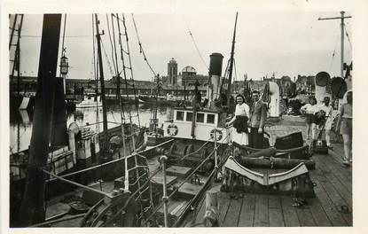 """/ CPA FRANCE 59 """"Dunkerque, l'arrière port"""""""