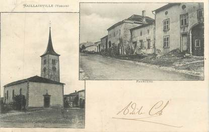 "CPA FRANCE 88 "" Haillainville, Vues"""