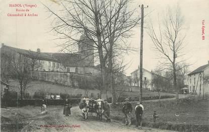 """CPA FRANCE 88 """" Hadol, Route de Géroménil à Arches"""""""