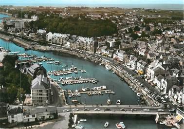 """CPSM FRANCE 44 """" Le Pouliguen, Le port, vue aérienne"""""""