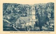 """84 Vaucluse CPA FRANCE 84 """"Mornas, La vieille église"""""""