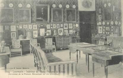"""CPA FRANCE 84 """"Lourmarin, Intérieur du Musée Philippe de Girard"""""""