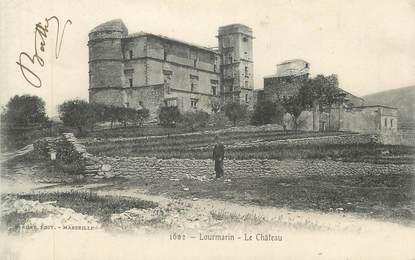 """CPA FRANCE 84 """"Lourmarin, Le château"""""""