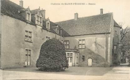 """CPA FRANCE 58 """"Chateau de Saint Péreuse, Besne"""""""