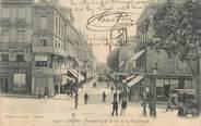 """84 Vaucluse CPA FRANCE 84 """" Avignon, Perspective de la Rue de la République"""""""