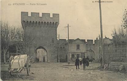 """CPA FRANCE 84 """" Avignon, Porte St Lazare"""""""