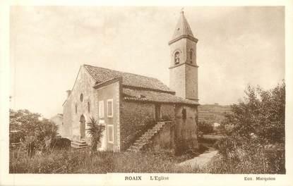 """CPA FRANCE 84 """"Roaix, L'église"""""""