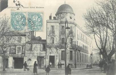 "CPA FRANCE 84 ""Cavaillon, Grand Hôtel Moderne"""