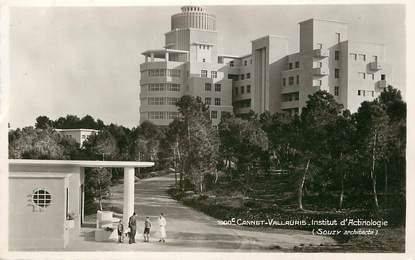 "/ CPSM FRANCE 06 ""Le Cannet Vallauris, institut d'Actinologie"""